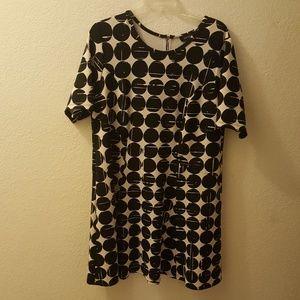 Karen Kane geometric design dress NWOT